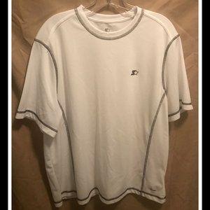 Mens Size Large 42/44 Starter Shirt White NWoT